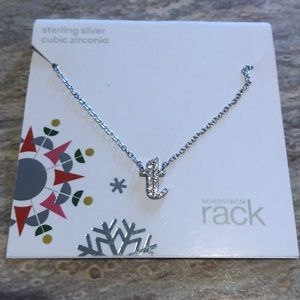 """NEW """"T"""" Sterling Silver Necklace"""
